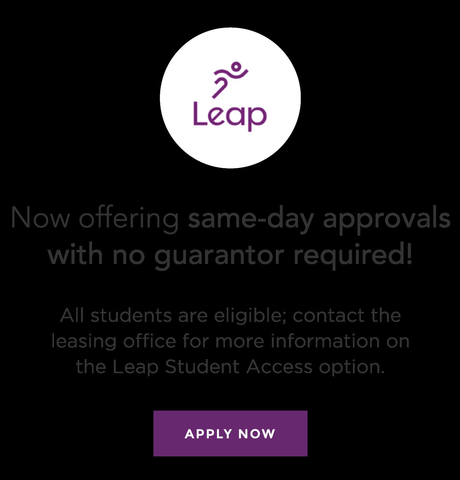 Leap student access option